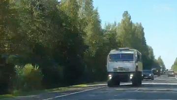 """Doniesienie o ciężarówkach jadących na Białoruś. """"Ta sytuacja przypomina 2014 rok"""""""