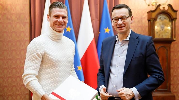 Premier spotkał się z Łukaszem Piszczkiem