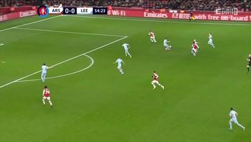 Arsenal - Leeds United 1:0. Skrót meczu (ELEVEN SPORTS)