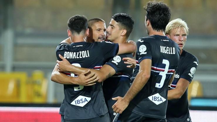 Serie A: Cenne zwycięstwo Sampdorii z Bereszyńskim w składzie