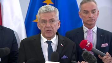 Karczewski pytał Grodzkiego kto zaproponował mu tekę ministra