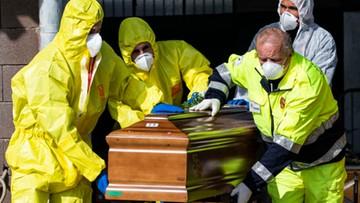Ponad 10 tys. zgonów w związku z koronawirusem we Włoszech