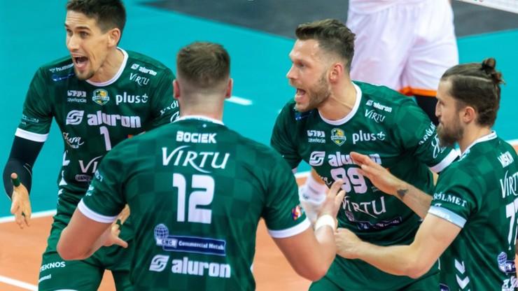 Challenge Cup: Aluron Virtu CMC Zawiercie - Hebar Pazardżik. Relacja na żywo