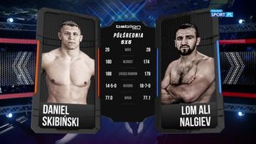 Daniel Skibiński – Lom-Ali Nalgiev. Skrót walki