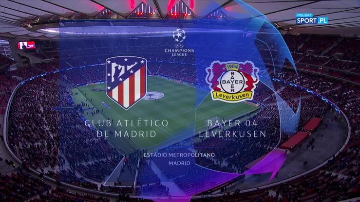 Atletico - Bayer Leverkusen 1:0. Skrót meczu