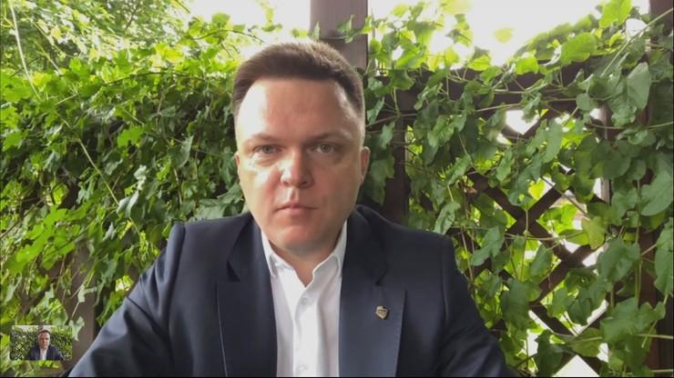"""""""Katastrofa dla Polski"""". Hołownia mówi o faworycie wyborów w USA"""