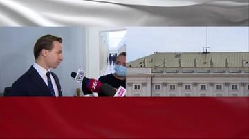 Posłowie Konfederacji bez maseczek w Sejmie. Zapłacą kary?