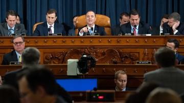 Pierwsze przesłuchania w Kongresie ws. impeachmentu Trumpa
