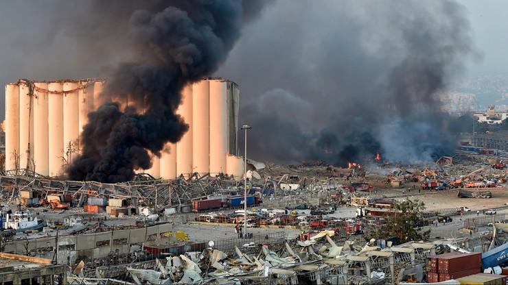 Wybuch w Bejrucie. Polska wysyła tam strażaków i materiały medyczne