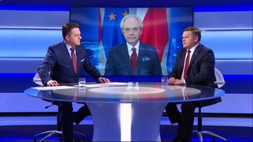 Skurkiewicz: KO skorumpowała Kwiatkowskiego, by w Senacie zagłosował za Grodzkim