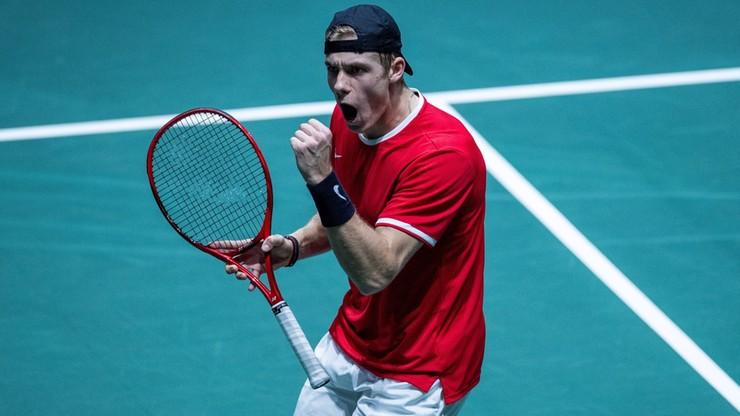Puchar Davisa: Kanada pierwszym półfinalistą