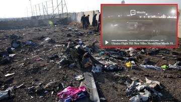 """""""Nie jeden, a dwa pociski uderzyły w ukraiński samolot"""". Nagranie z zestrzelenia Boeinga"""