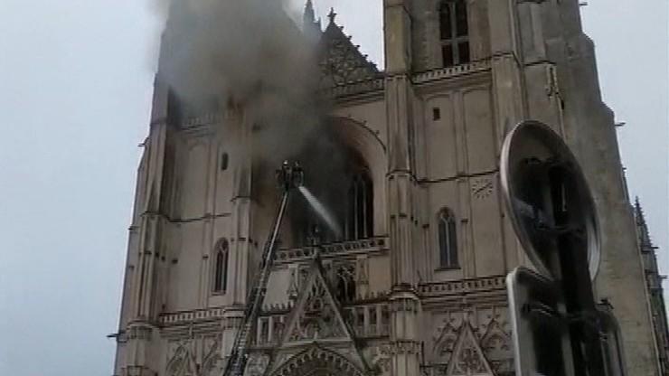 Płonące kościoły we Francji. Tylko w tym roku spłonęło dziewięć świątyń