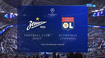 Zenit Petersburg - Olympique Lyon 2:0. Skrót meczu
