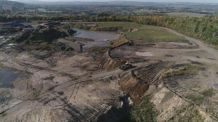 Zakopią odpady z kominów niemieckich fabryk i hut