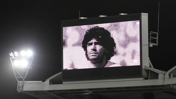 """Pogrzeb Diego Maradony. Legendarny piłkarz spoczął w """"Ogrodzie Pokoju"""""""