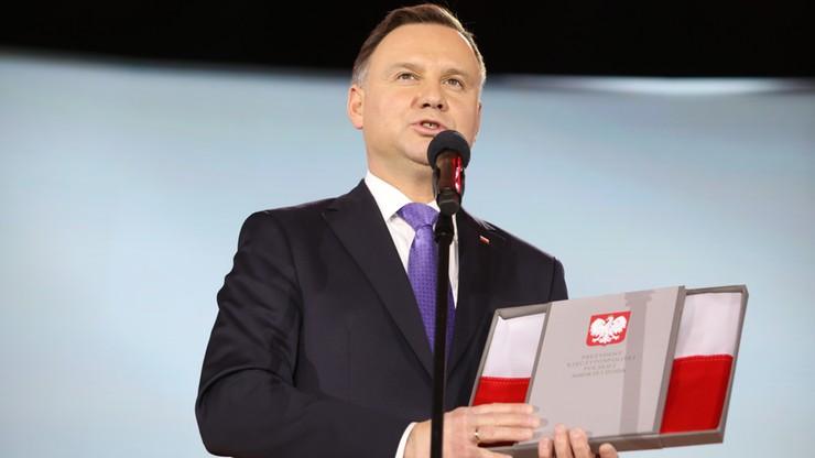 Prezydent Duda: Złota era polskiej lekkiej atletyki trwa do dzisiaj