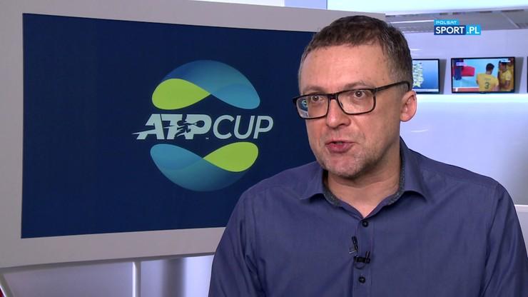 Lorek zapowiada ATP Cup na sportowych antenach Polsatu