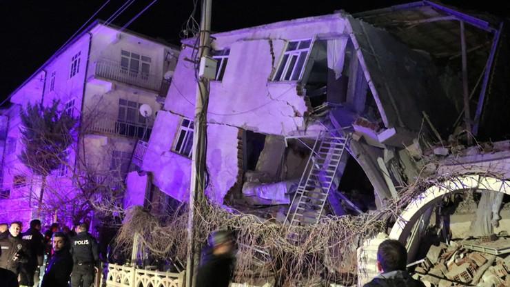 Silne trzęsienie ziemi w Turcji, są ofiary śmiertelne. Rośnie liczba ofiar