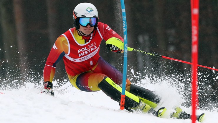 Habdas mistrzem Polski także w slalomie