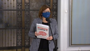 """Brak łóżek, respiratorów i chaos. Posłowie KO prezentują """"Księgę prawdy o COVID-19"""""""