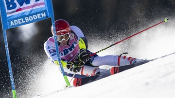 Alpejski PŚ: Kranjec wygrał slalom gigant w Adelboden