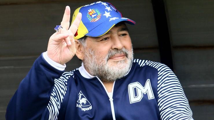Maradona zmienił zdanie i pozostanie na stanowisku trenera