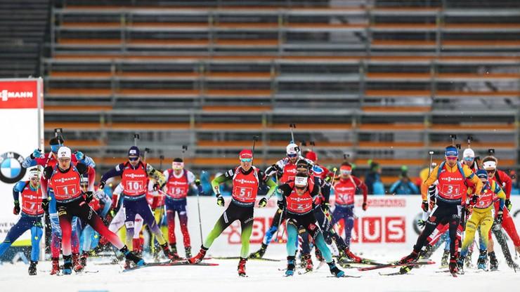 PŚ w biathlonie: Triumf Norwegów w sztafecie, Polacy zdublowani