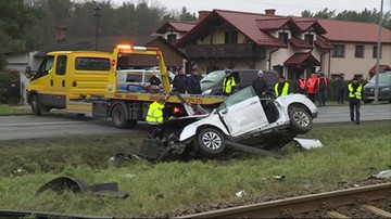 """Tragedia na torach kolejowych. Janusz Dzięcioł zginął w wypadku - materiał """"Wydarzeń"""""""