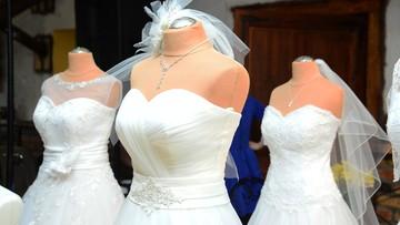 Kradzież w salonie sukien ślubnych. Tuż przed weselami