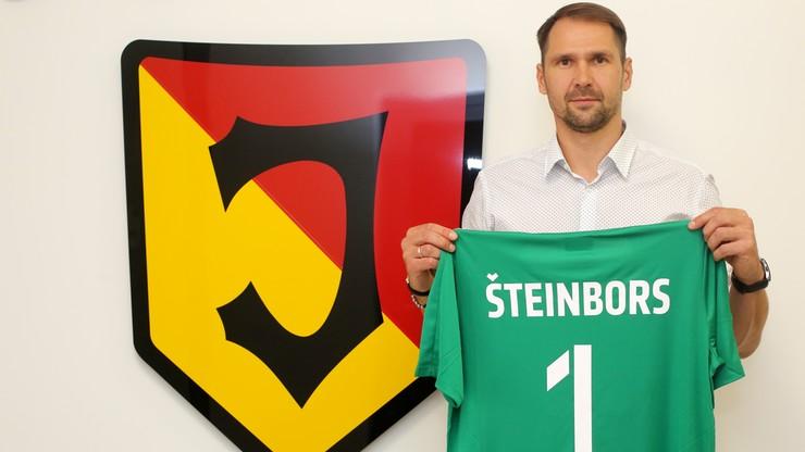 Pavels Steinbors bramkarzem Jagiellonii Białystok