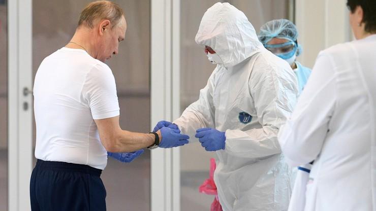 Putin przełożył głosowanie ws. konstytucji. Tydzień wolny od pracy