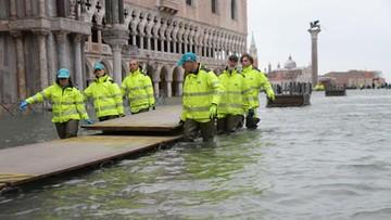 W Wenecji zawyły syreny alarmowe. Spełnił się najczarniejszy scenariusz