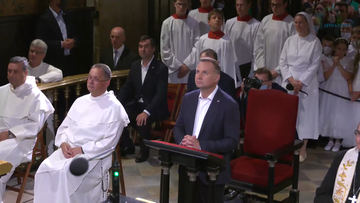 Prezydent odwiedził klasztor na Jasnej Górze