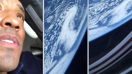 Astronauta z historycznej misji kapsuły Dragon-2 pokazał Ziemię z kosmosu [FILM]