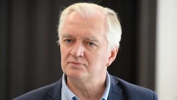 Porozumienie poparło Jarosława Gowina