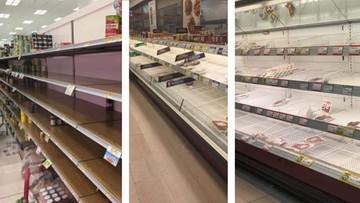 Puste półki w sklepach, zamknięte szkoły, odcięte miasta. Koronawirus uderzył we Włochy
