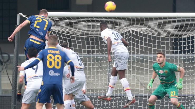 Serie A: Triumf Verony. Efektowny gol Dawidowicza!