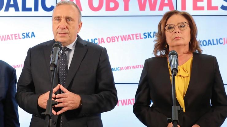 """Wybory na szefa PO. Kidawa-Błońska """"nie wie"""", czy zagłosowałaby na Schetynę"""