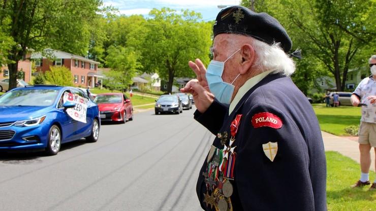 Polski weteran spod Monte Cassino uhonorowany w USA. Miał łzy w oczach