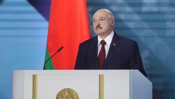 Łukaszenka twierdzi, że protestami sterowano m.in. z Polski