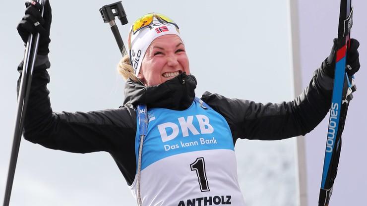 """Królowa biathlonowych MŚ została """"ubogą"""" milionerką"""
