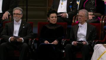Olga Tokarczuk odbiera literacką Nagrodę Nobla [TRANSMISJA]