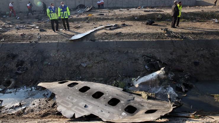 Katastrofa ukraińskiego samolotu. Wśród ofiar są obywatele siedmiu państw