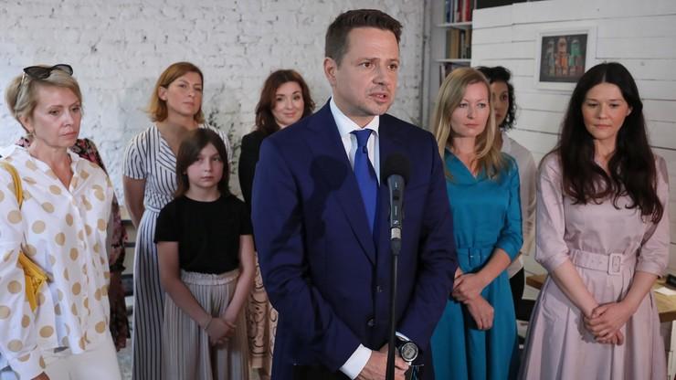 Trzaskowski: powołam pełnomocniczkę ds. kobiet