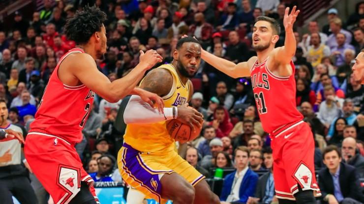 NBA: Wieczór znów należał do Jamesa. Kuzma wraca do gry
