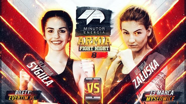 MINUTOR Energia Armia Fight Night 8: Syguła - Załuska w karcie walk