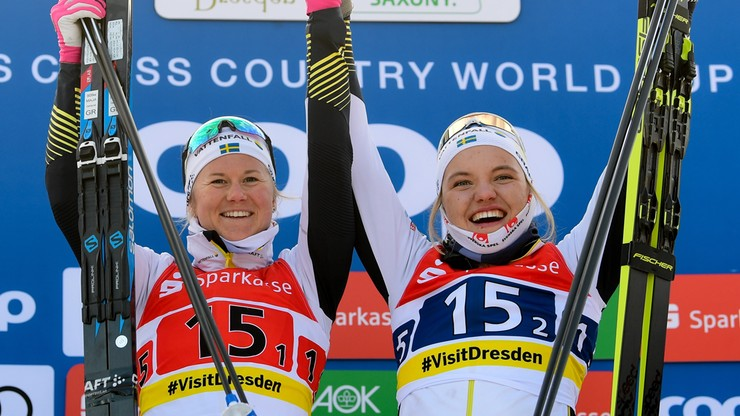 PŚ w biegach: Szwedki i Francuzi najlepsi w drużynowym sprincie