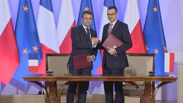 Prezydent Francji zapewnił, że Polska skorzysta na funduszu. Chodzi o transformację energetyczną