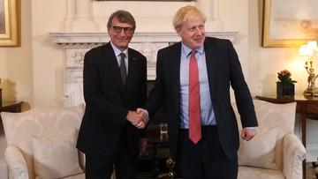 Szef PE wzburzony po spotkaniu z Johnsonem w Londynie. Nie ma postępu